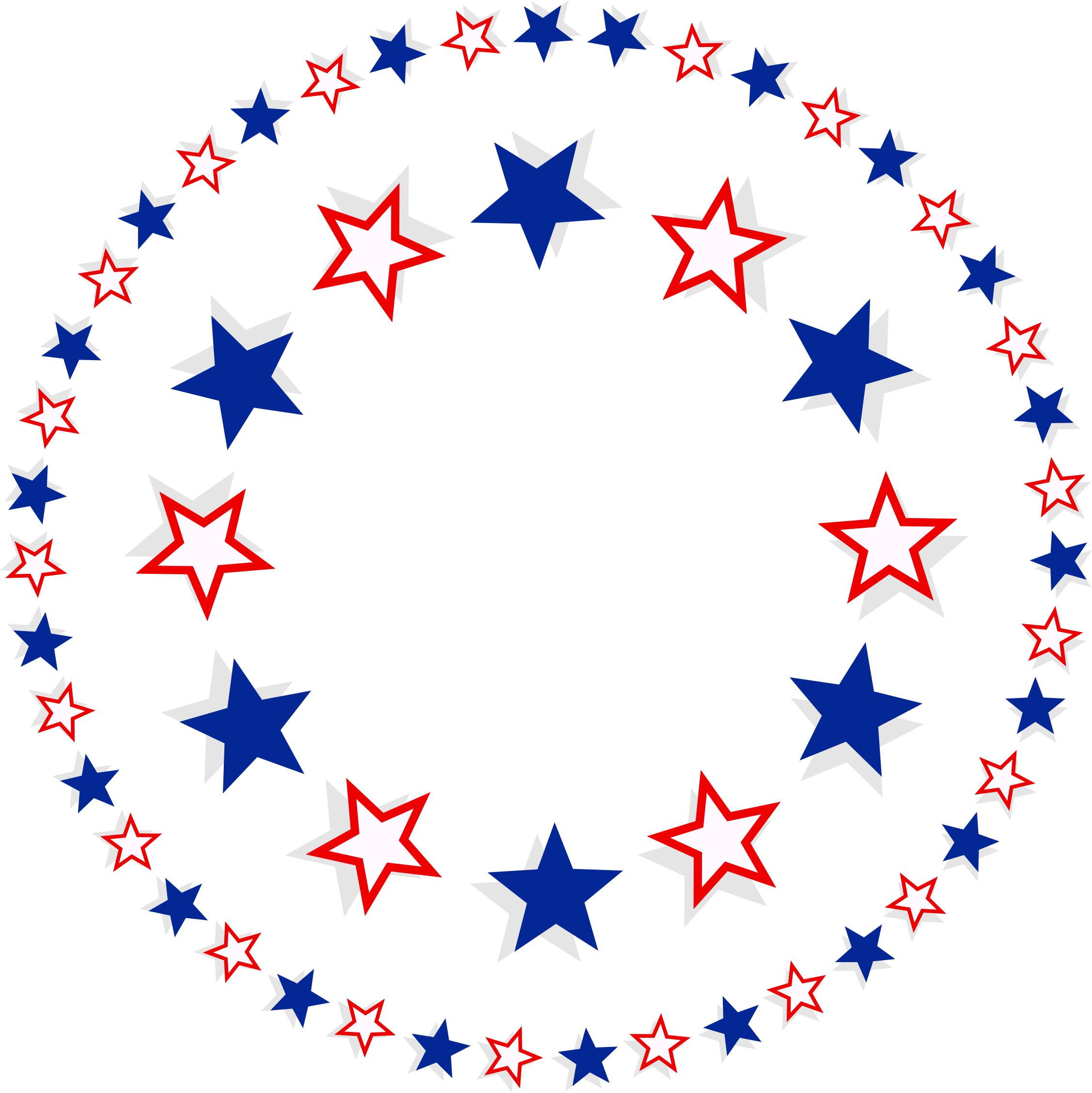 Patriotic icons free and. Stars circle png svg royalty free