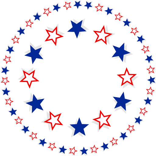 Circle of stars png. Clipart i royalty free
