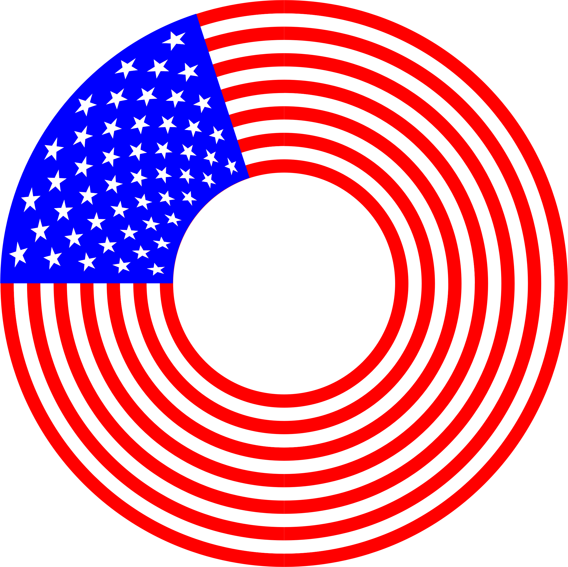 Circle of stars png. And stripes icons free