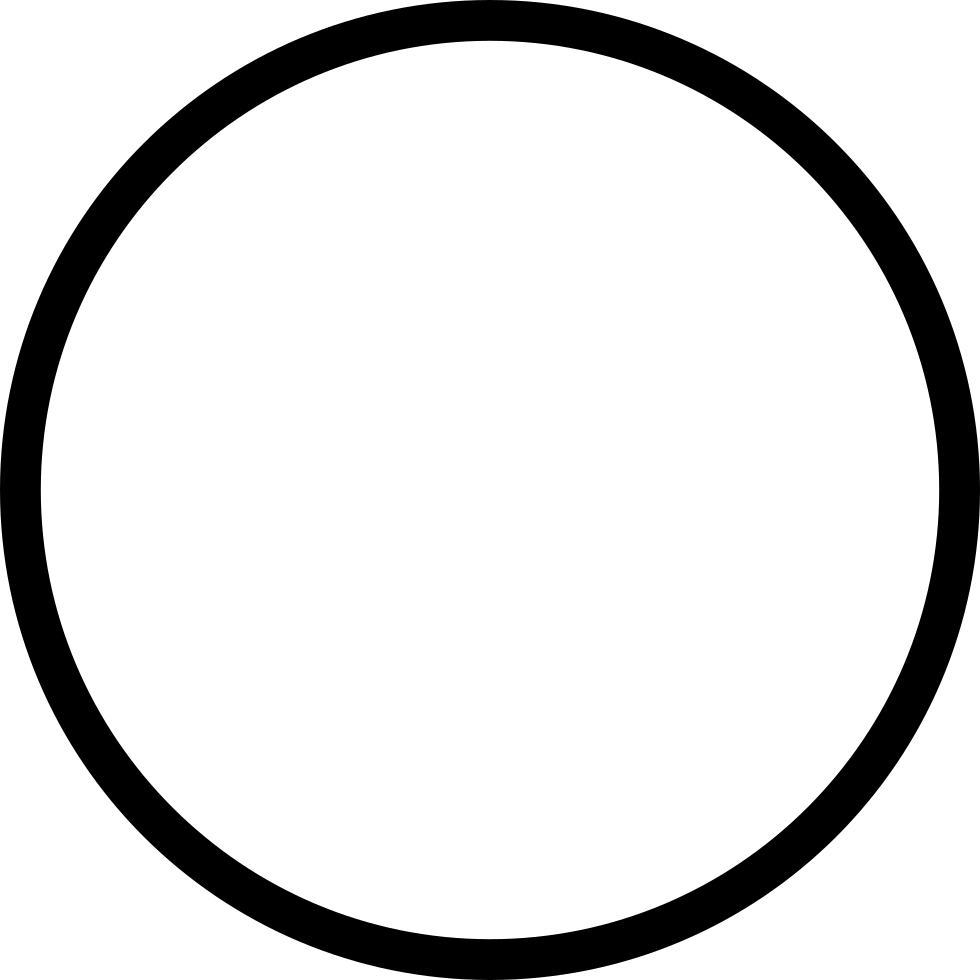 Circle outline png. Ios svg icon free