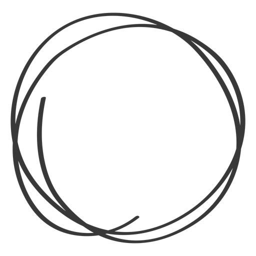 Scribble circle png. Hand drawn transparent images