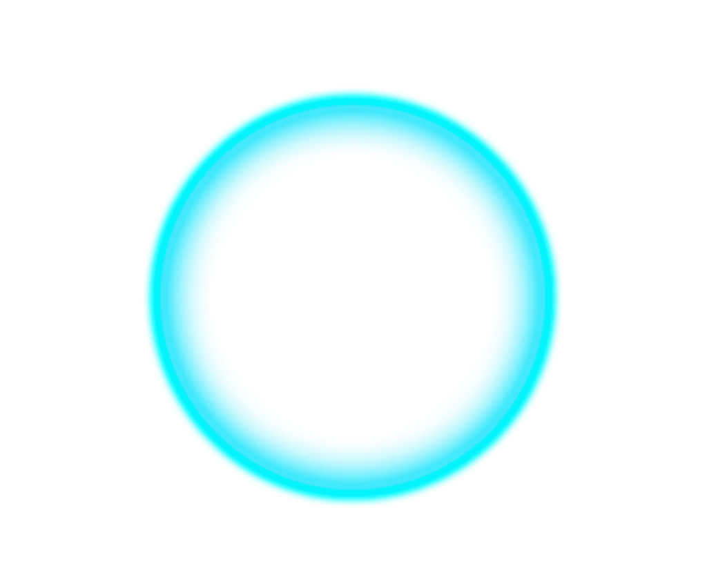 Circle png neon. Glowing light sticker