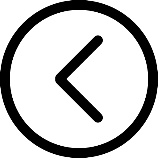Circle png outline. Left arrow in free