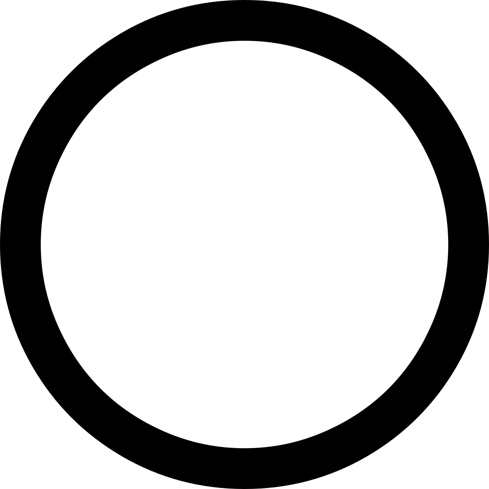 Circle png thin. Svg icon free download