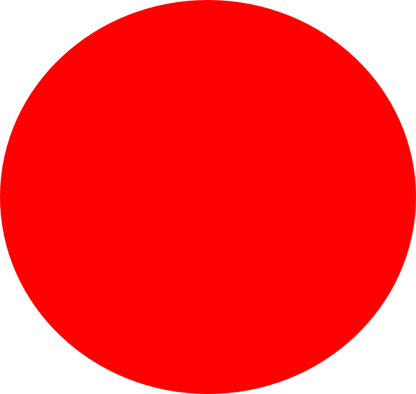 Circle png transparent background. Red clip art at