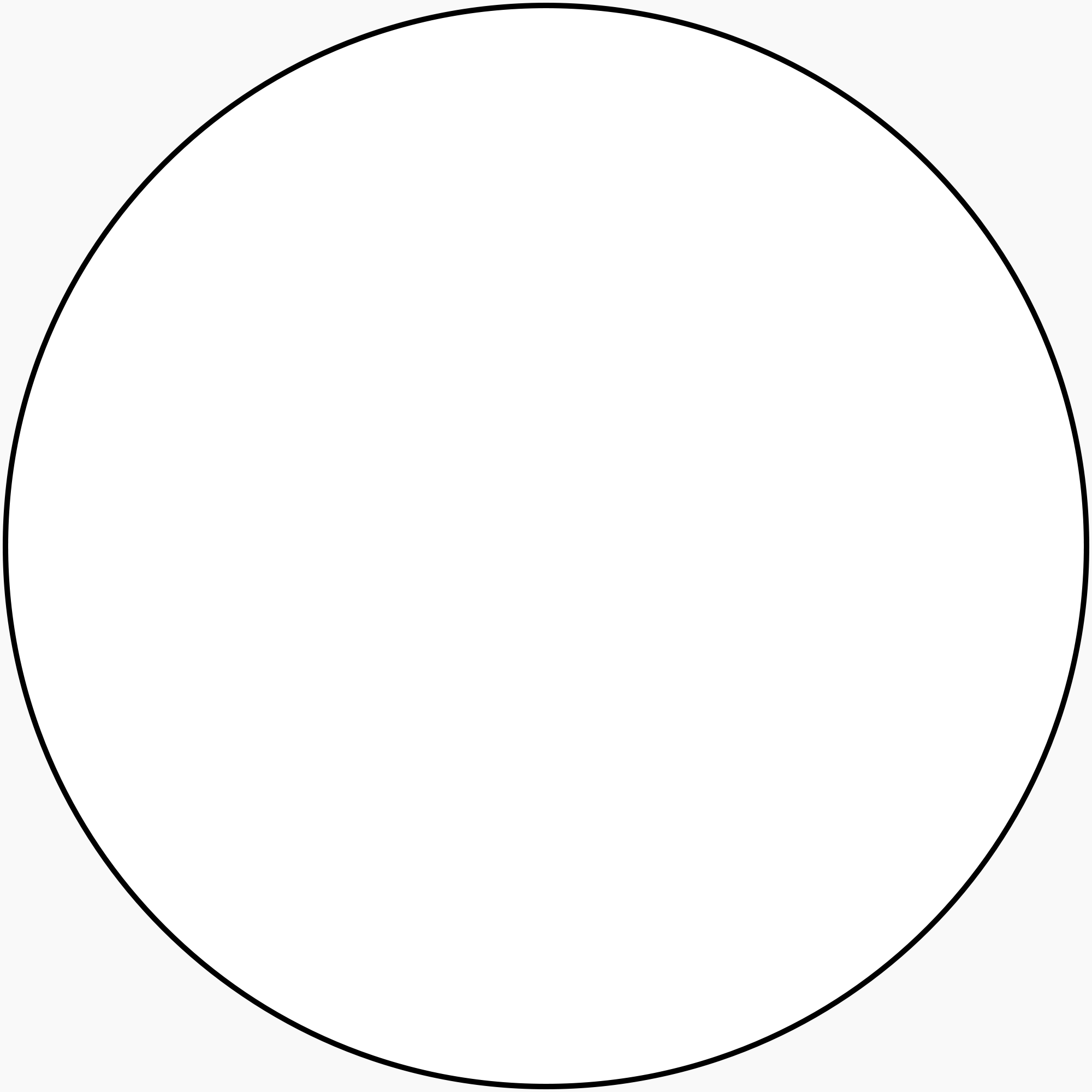 white circle frame png