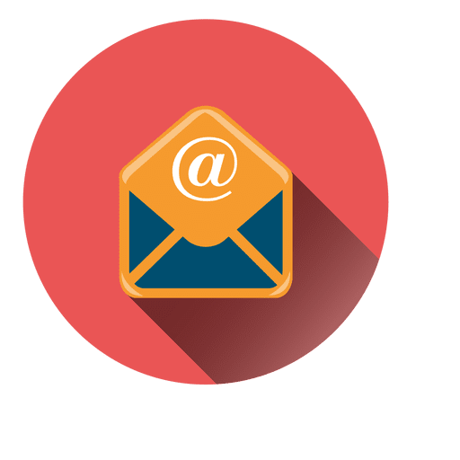 Circle png vector. Email icon transparent svg