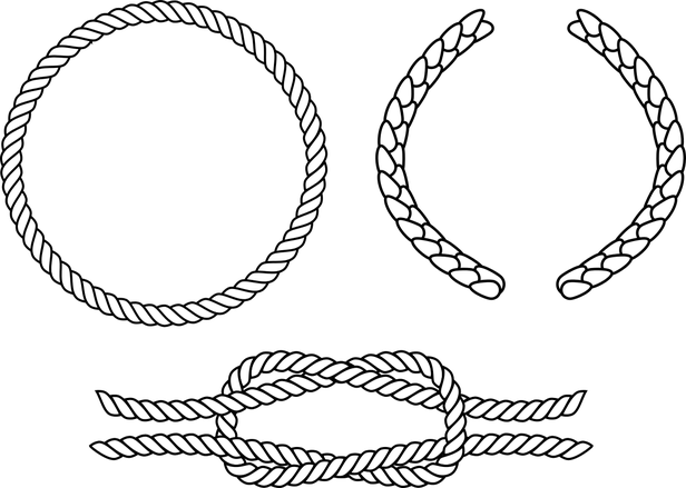 Circle rope png. Use inkscape to draw