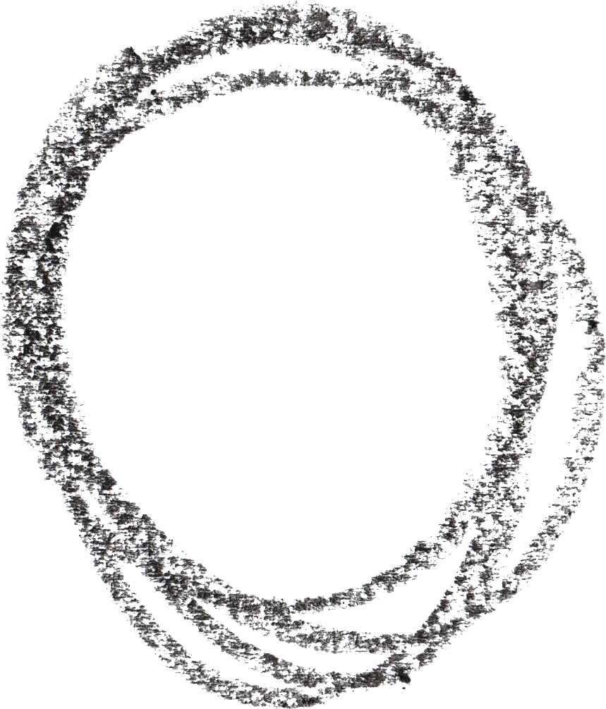 Drawing ovals scribble. Crayon circle png