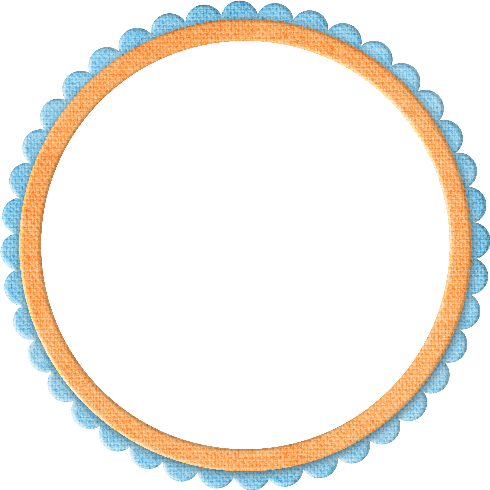 Circle scribble png. Botones marcos osos flores