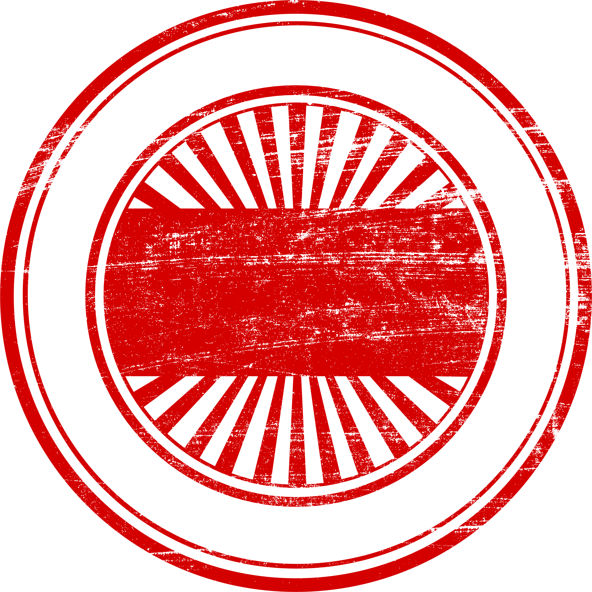 Stamp png. Red empty vector