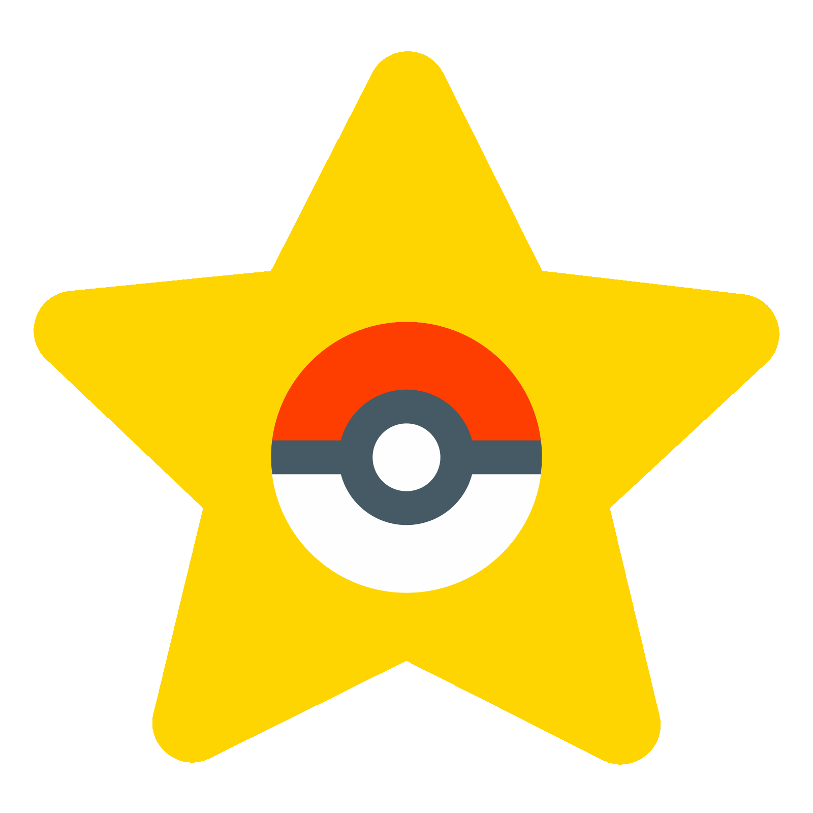Vector star png. Pokemon icon free download