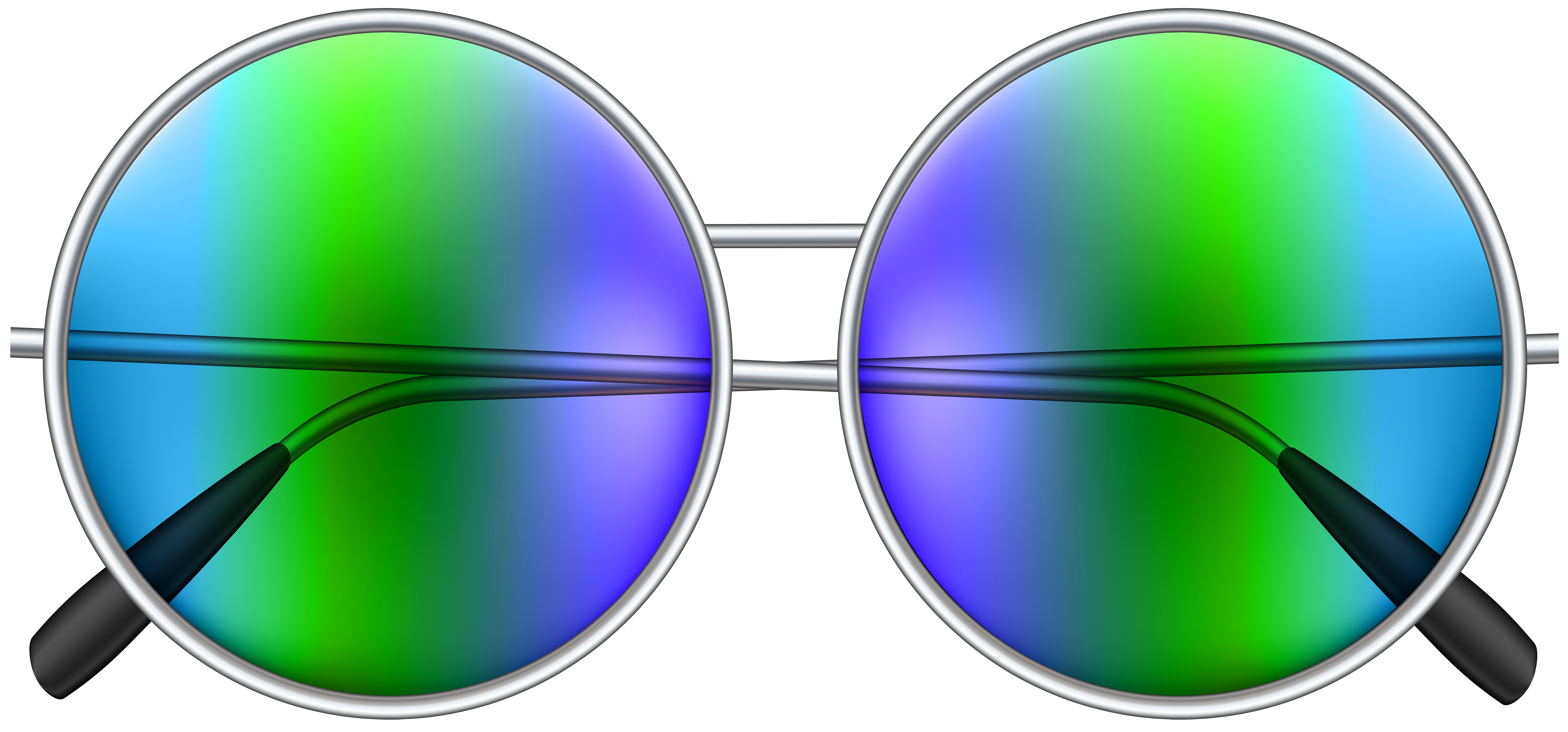 Circle sunglasses png. Round clip art image