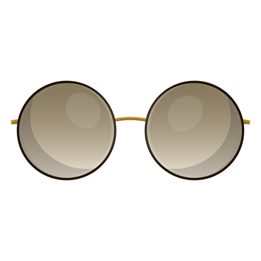 Circle sunglasses png. Brown round transparent svg