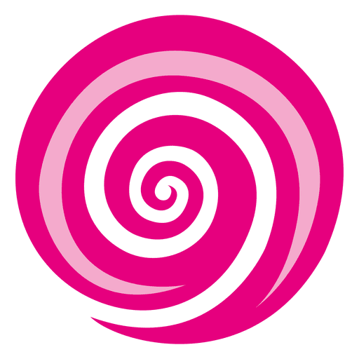 Circle swirl png. Majenta vortex icon transparent