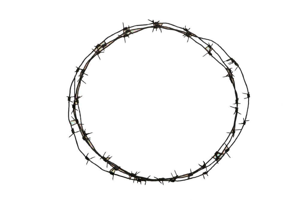 barbed wire circle png