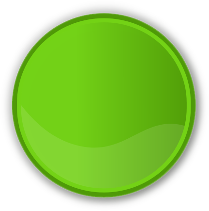 Circle transparent png. Color label green blanks