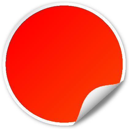 Red seal png. Circle svg vector public