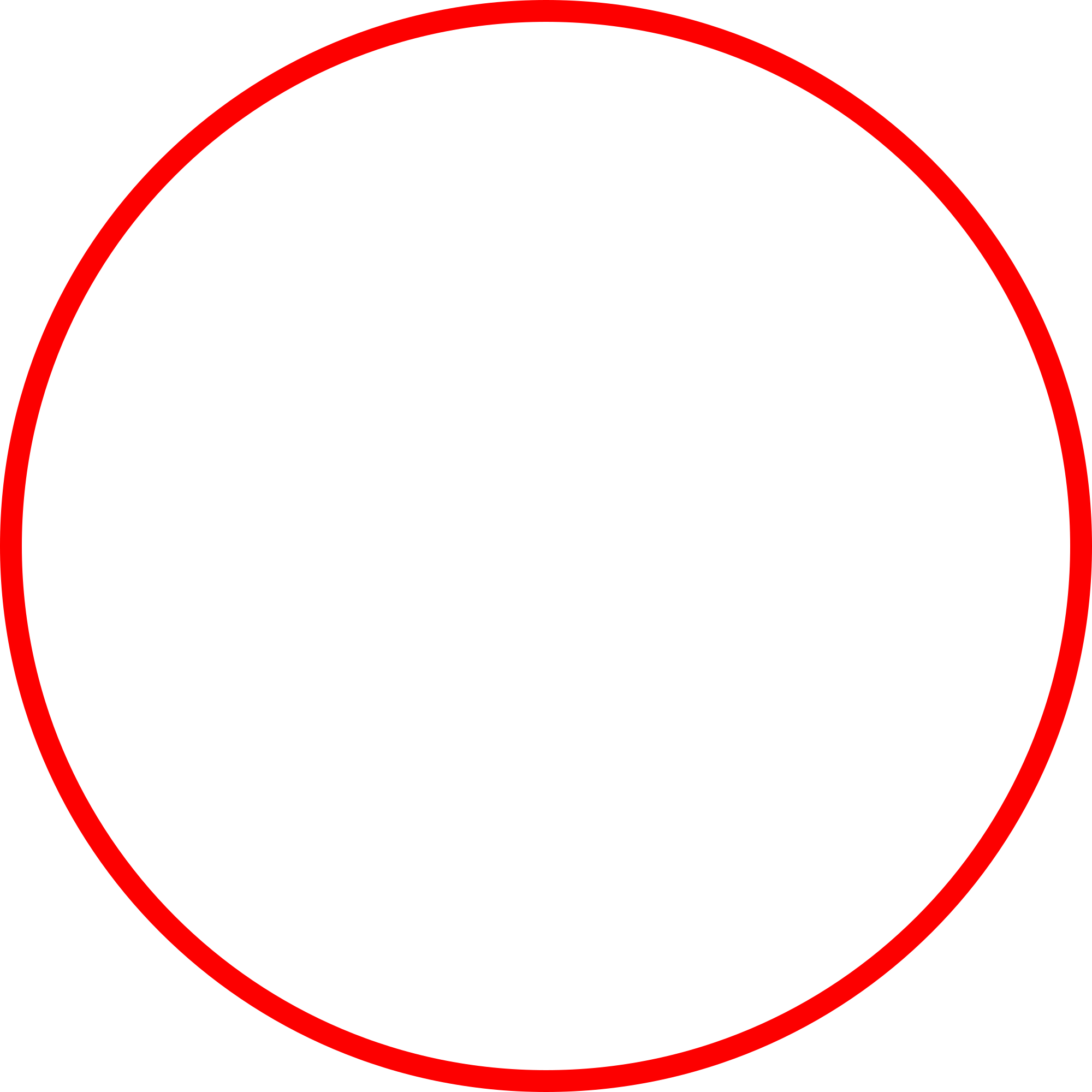 red circle outline png