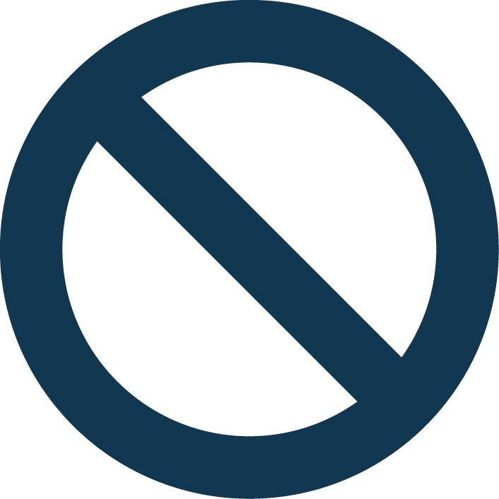 Circle with a line through it png. What are our rights