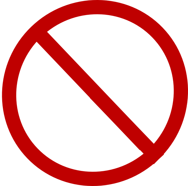 No transparent png. Red circle clip art