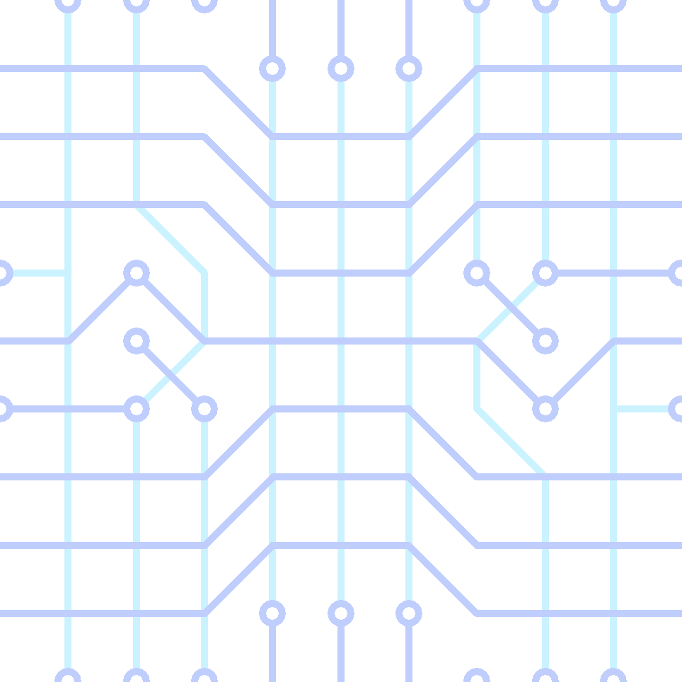 blue circuit png