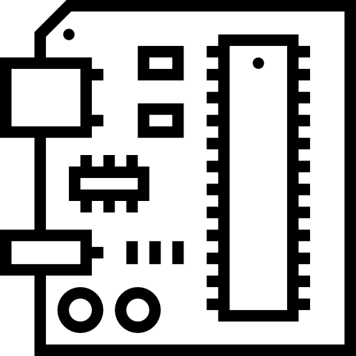 Free circuit board png. Technology icons icon