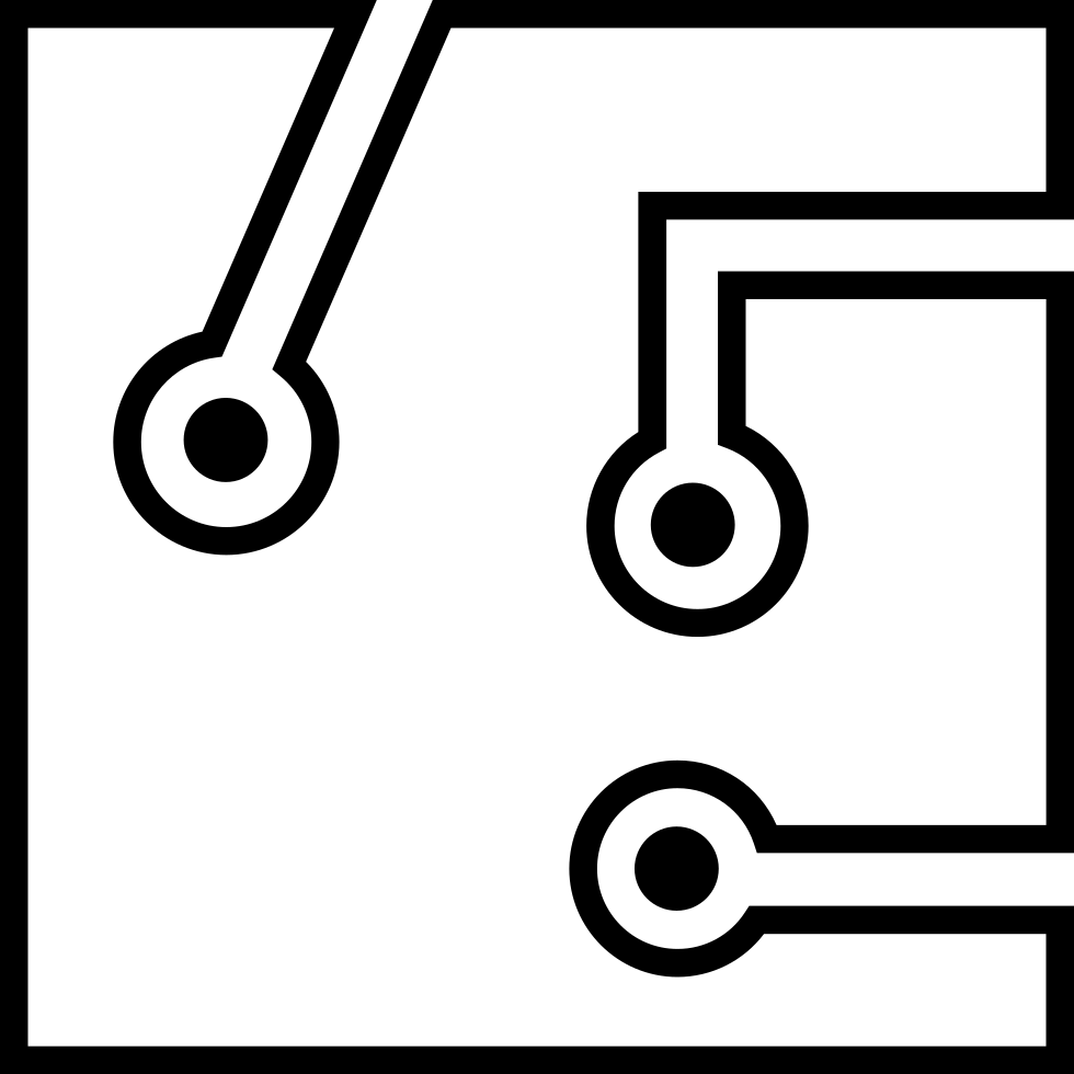 Circuit board black png. Svg icon free download