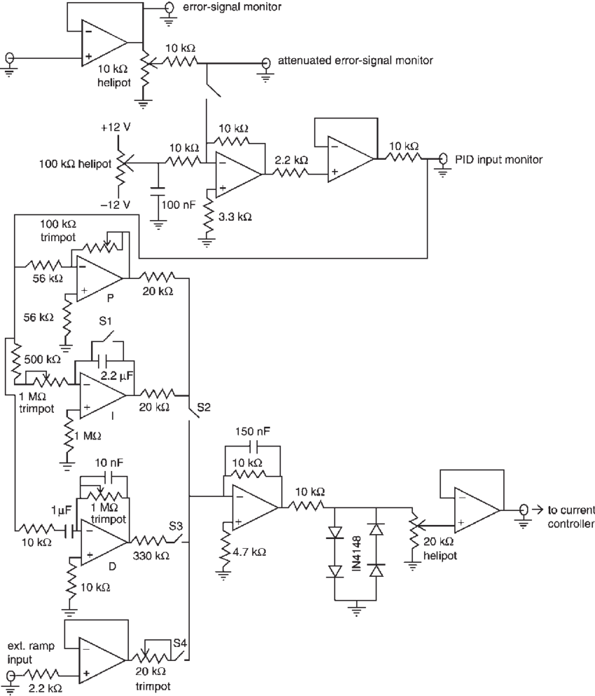 Circuit diagram png. Of the servocontroller all