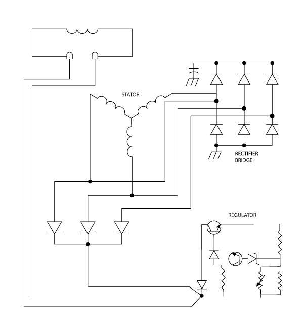Circuit diagram png. Of an alternator schematic