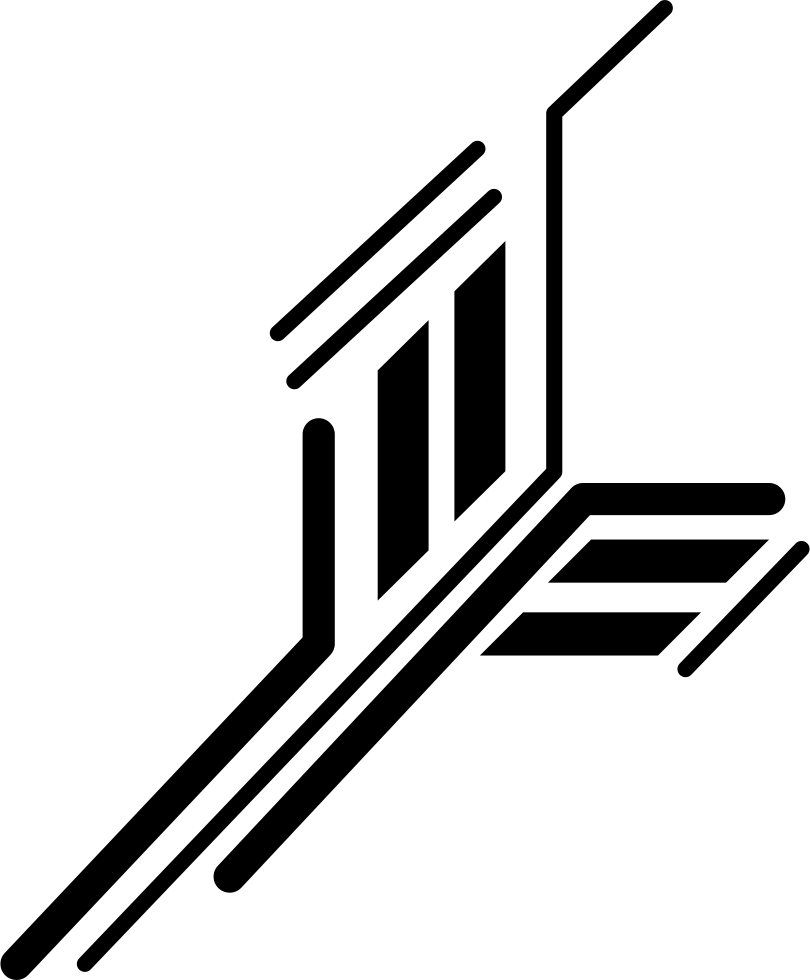 Circuit png. Electronic of printed straight