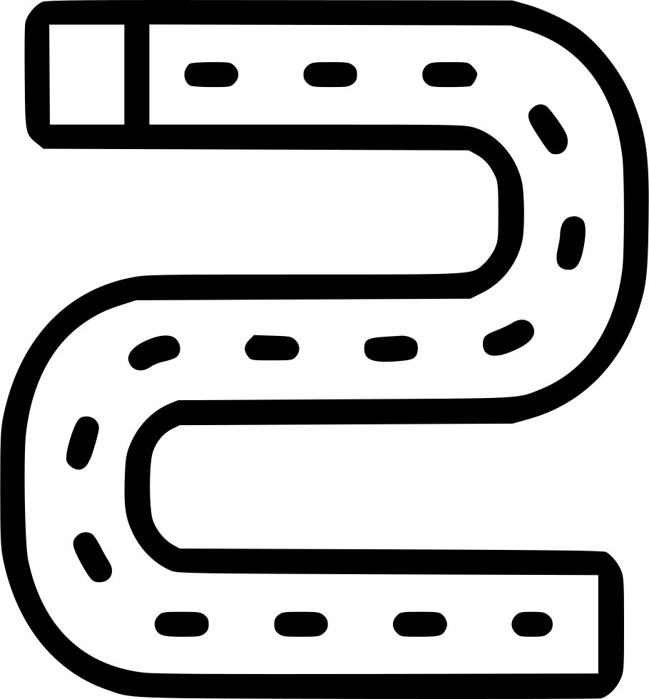 Circuit png icon. Race track lap motor