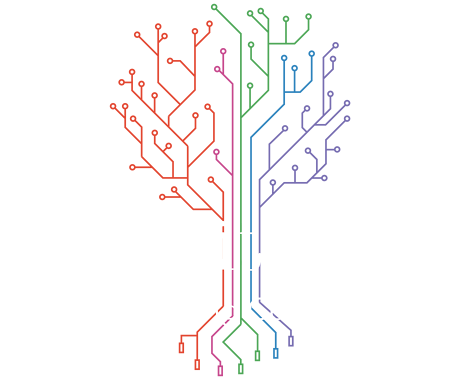 Circuits vector tree. Circuit learning centre parent