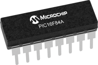 Circuits vector microchip. The pic f a