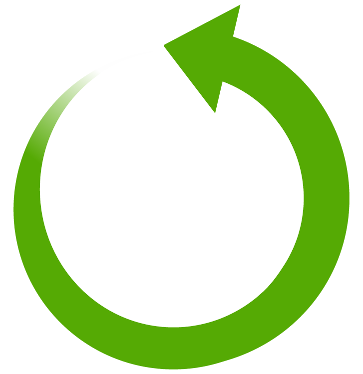 Round arrow png. Free curved image download