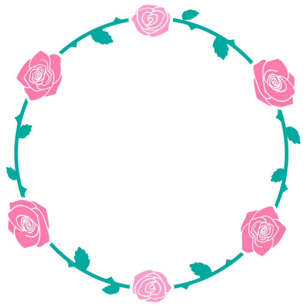 Circulo de flores png. Flowers circle sticker by