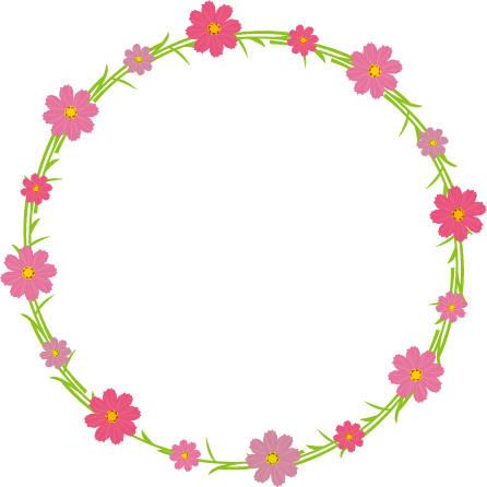 Circulo de flores png. Floral by hitose on