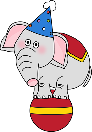 Ball clip circus. Free theme cliparts download