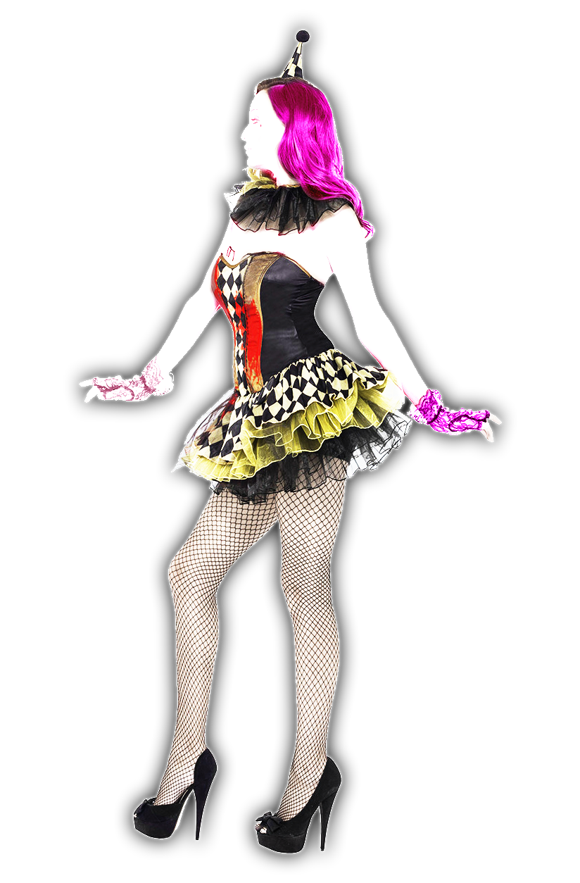 Circus clown png. Image o zombie costume