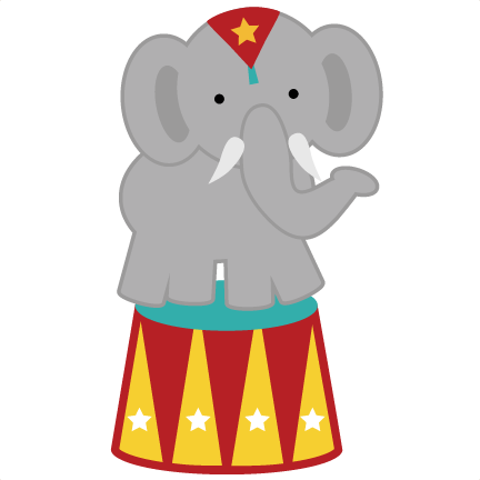 Circus elephant png. Svg for clipart back