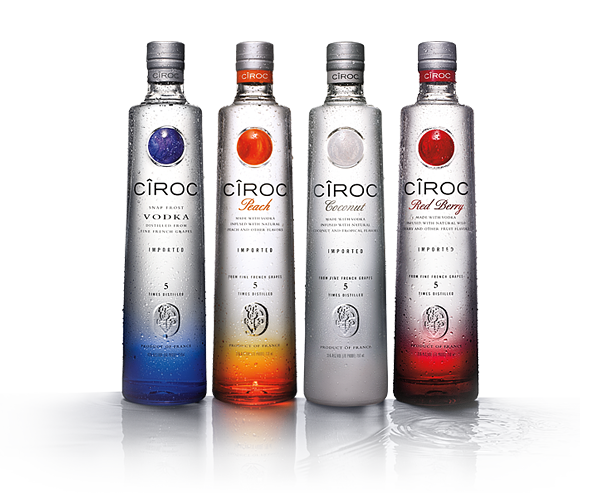Ciroc vodka png. In review of history