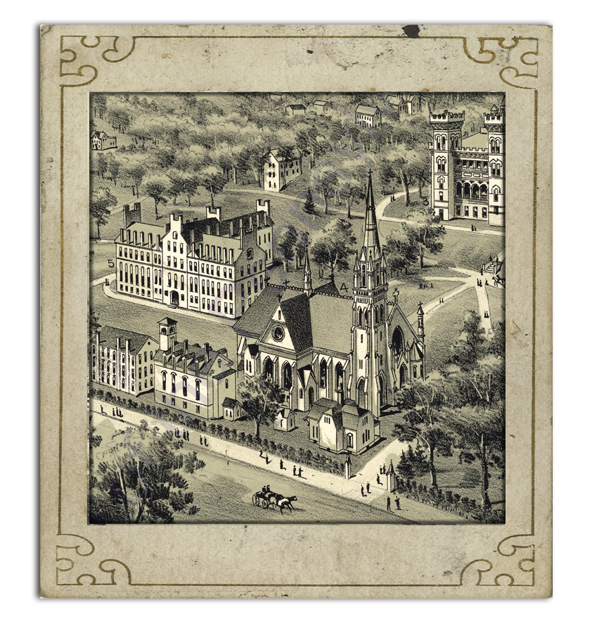 Cities drawing detailed. Pa state archives t