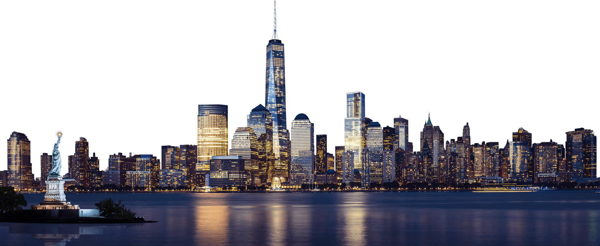 City png. New york skyline image