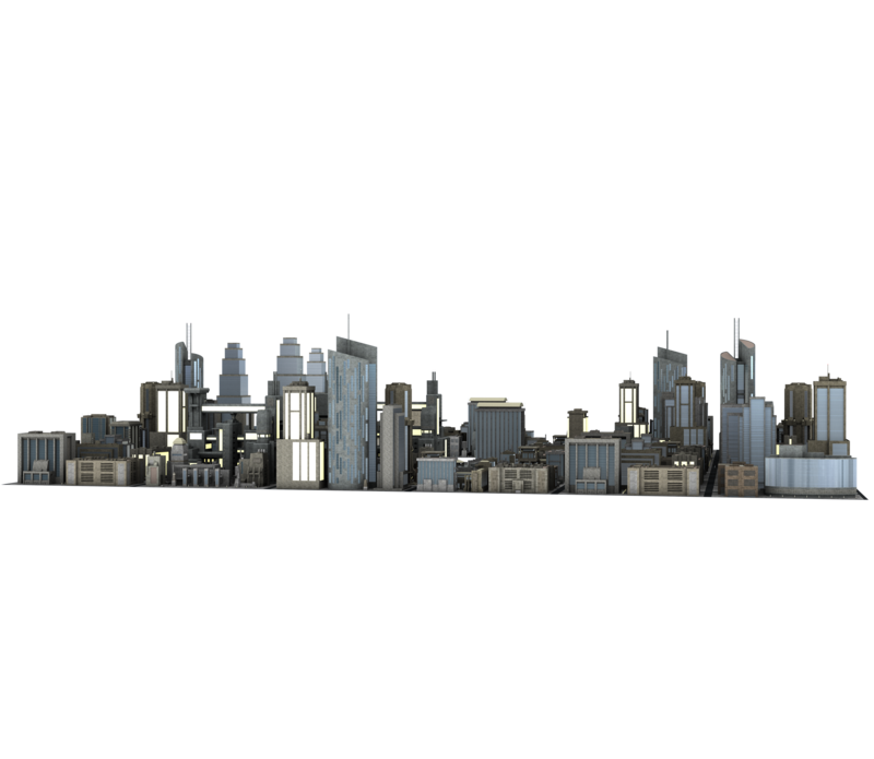 City building png. Large buildings great back