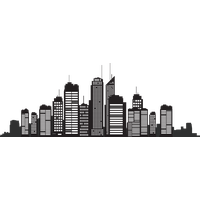 City clipart. Download free png icon