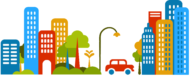 City clipart. Cars free images at