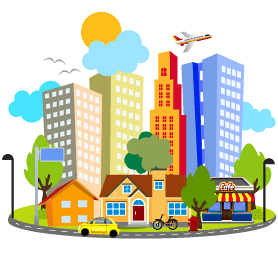 City clipart. Pic gallery wallpapers