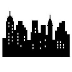 City clipart city landscape. Silhouette at getdrawings com