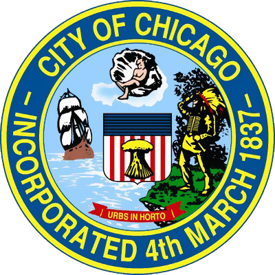 city of chicago logo png