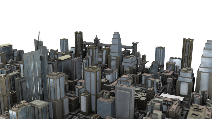 City png. Blocks by neverfading stock